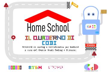Attività di coding e cittadinanza da casa per bambini e genitori